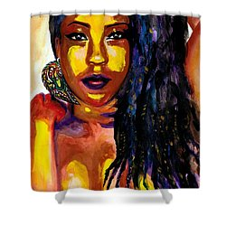 X-posed Shower Curtain