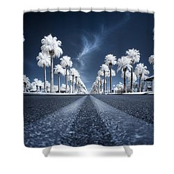 Shower Curtain featuring the photograph X by Sean Foster