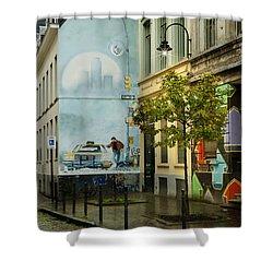 Xiii Shower Curtain by Juli Scalzi