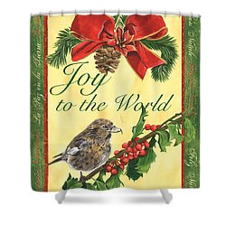 Xmas Around The World 2 Shower Curtain by Debbie DeWitt