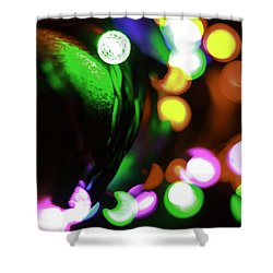 Xmas Lite Shower Curtain
