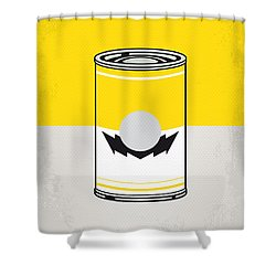 Y Mario Warhols Minimal Can Poster-wario Shower Curtain