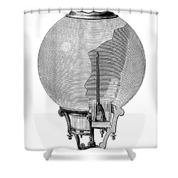 Yablochkov Candle Shower Curtain by Granger