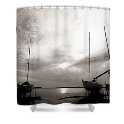 Cirrus Effect Shower Curtain