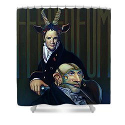 Yak Andrew Bienstjalk Shower Curtain