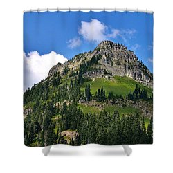 Yakima Peak Shower Curtain by Sean Griffin