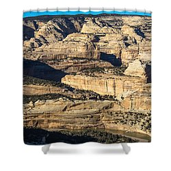 Yampa River Canyon In Dinosaur National Monument Shower Curtain