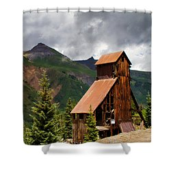 Yankee Girl Mine 2 Shower Curtain