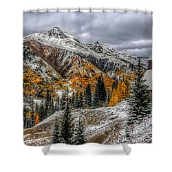 Yankee Girl Mine Shower Curtain