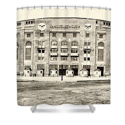 Yankee Stadium Shower Curtain by Bill Cannon