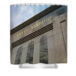 Yankee Stadium Shower Curtain by Stephen Stookey