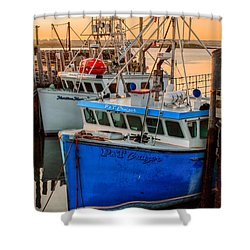 Yarmouth Harbour Shower Curtain