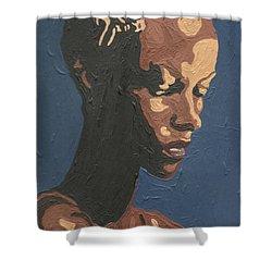 Yasmin Warsame Shower Curtain
