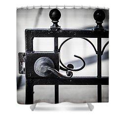 Ybor City Gate Shower Curtain