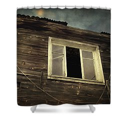 Years Of Decay Shower Curtain by Taylan Apukovska