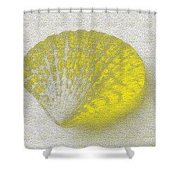 Yellow Shower Curtain by Carol Lynch