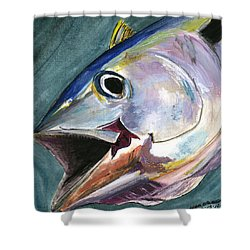 Yellow Fin Shower Curtain