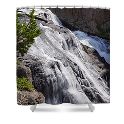 Yellowstone Gibbon Falls Shower Curtain