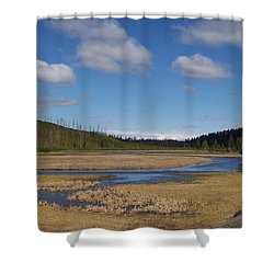 Yellowstone Park 2 Shower Curtain