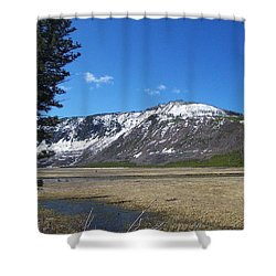 Yellowstone Park Beauty 1 Shower Curtain by Kenneth Cole