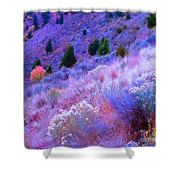Yellowstone Summer Shower Curtain