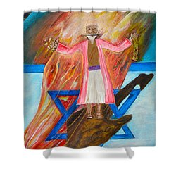 Yeshua Shower Curtain