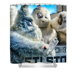 Yeti Store Shower Curtain by Scott  Wyatt