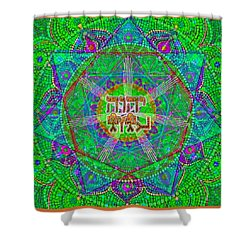 Yhwh 3 5 2015 Shower Curtain
