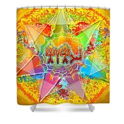 Yhwh 9 7 2014 Shower Curtain by Hidden  Mountain