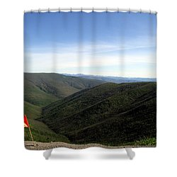 Shower Curtain featuring the photograph Yikes.... by Betty-Anne McDonald