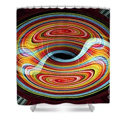 Yin And Yang - Abstract Shower Curtain
