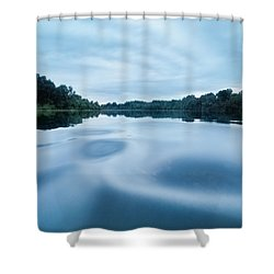 Yin And Yang Shower Curtain by Davorin Mance