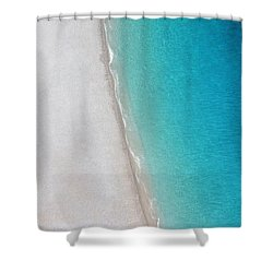 Yin Yang Coast Shower Curtain
