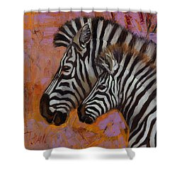 Yipes Stripes Shower Curtain