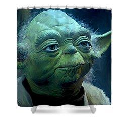 Yoda Shower Curtain