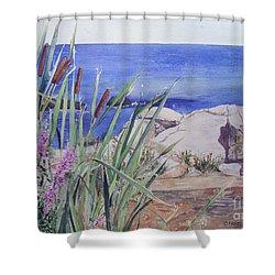 York Maine Shower Curtain