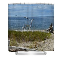 Yorktown Va Beach Shower Curtain