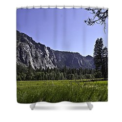 Shower Curtain featuring the photograph Yosemite Meadow by Brian Williamson