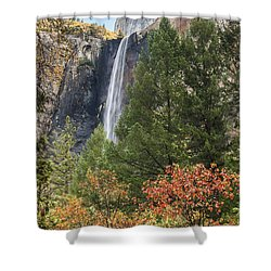Yosemite Shower Curtain by Muhie Kanawati