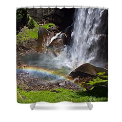 Shower Curtain featuring the photograph Yosemite National Park by Brian Williamson