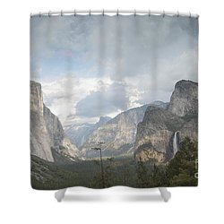 Yosemite National Park Shower Curtain by Juli Scalzi