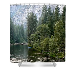 Yosemite National Park Shower Curtain by Laurel Powell