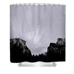 Yosemite National Park Shower Curtain by Shaun Higson