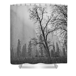 Shower Curtain featuring the photograph Yosemite Storm by Priya Ghose