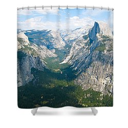 Yosemite Summers Shower Curtain by Heidi Smith