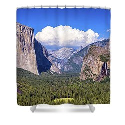 Yosemite Valley Beauty Shower Curtain
