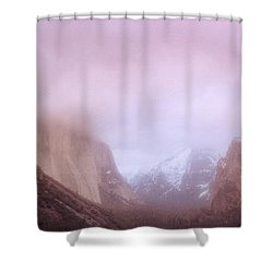 Yosemite Valley Ca Usa Shower Curtain by Panoramic Images