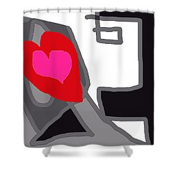 You Are My Forever Valentine Shower Curtain by RjFxx at beautifullart com