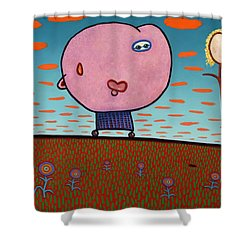 You Are My Sunshine Shower Curtain by James W Johnson