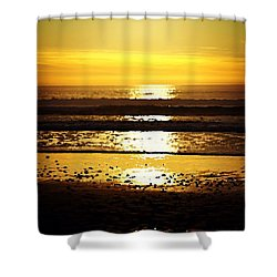 You Are The Salt Of The Earth And The Light Of The World Shower Curtain by Sharon Soberon